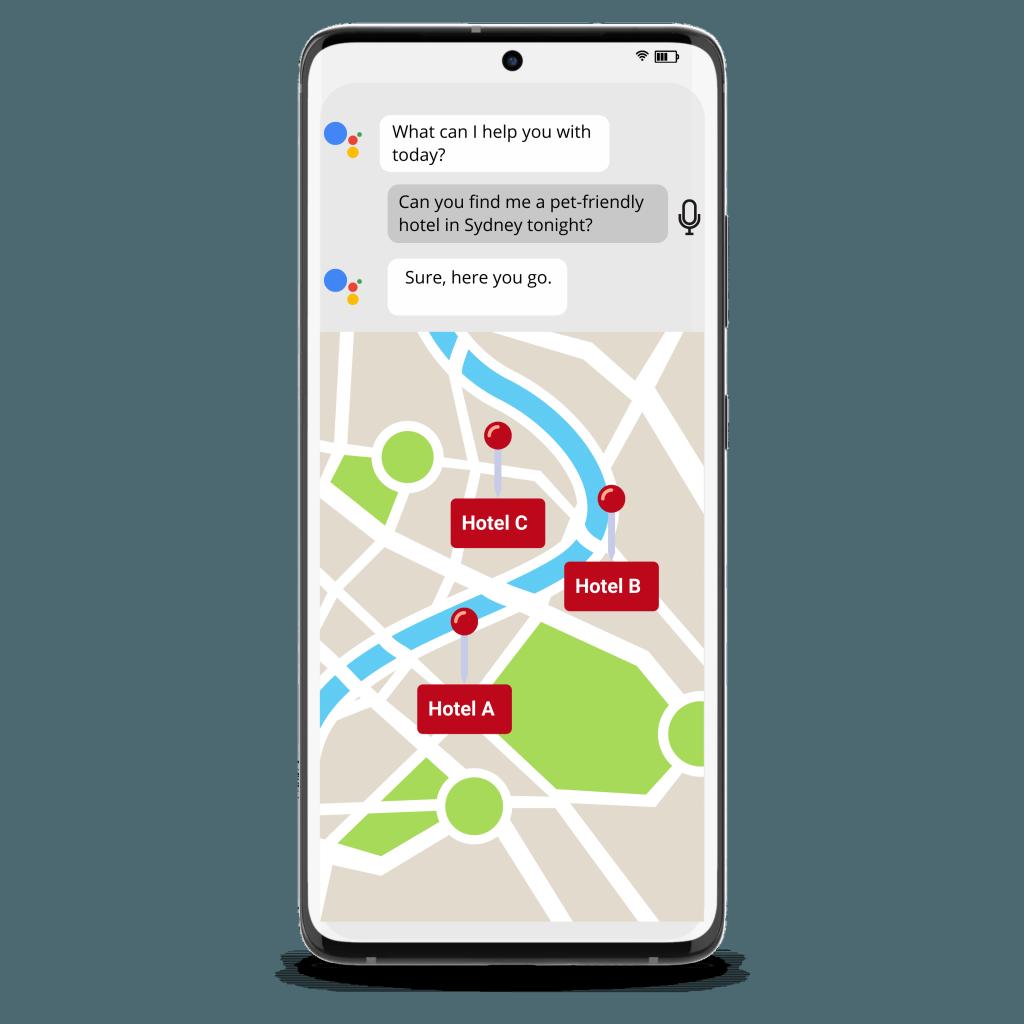 Google Voice Assistant Mobile