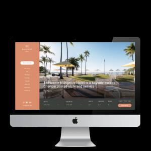 Booking Engine Homepage Mangrove Hotel 1